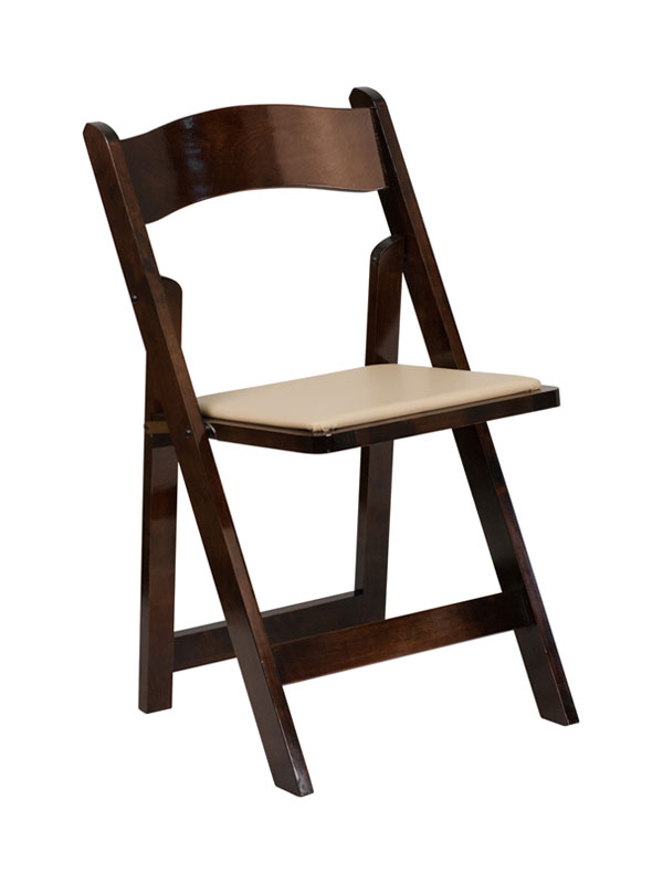 Fruitwood Chair W Padded Seat Wood Resin Chairs