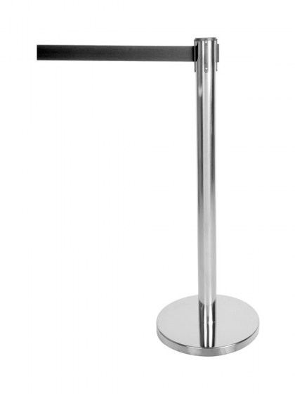 modern_chrome_stanchion_with_retractable_black_belt