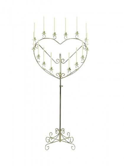 single_heart_brass_candelabra