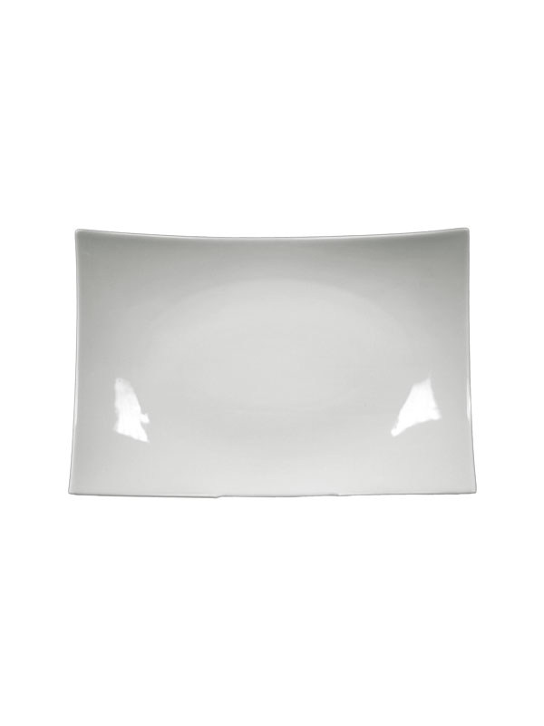 White Rectangle Dinner Plate 12   sc 1 st  Abbey Party Rentals & White Rectangle Dinner Plate 12u0027 | Dinnerware